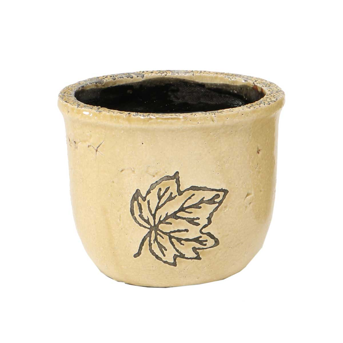 "Leaf Cache Pot 4.5""x5"" A2070 TN v22"