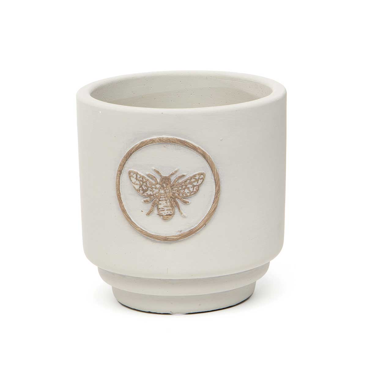 BEE CREST CONCRETE POT SMALL