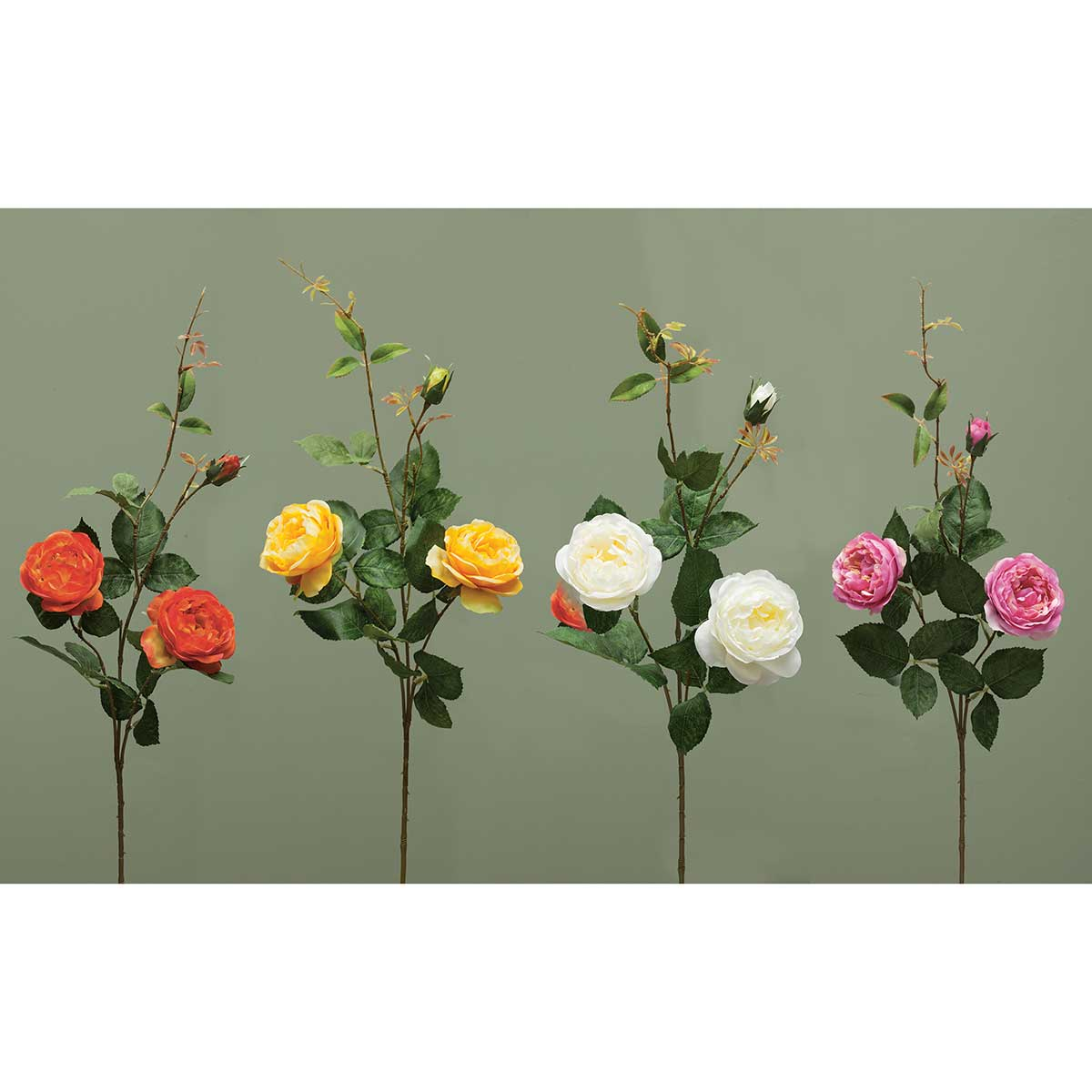 PEONY ROSE SPRAY ASSORTMENT PACK 12 UNITS