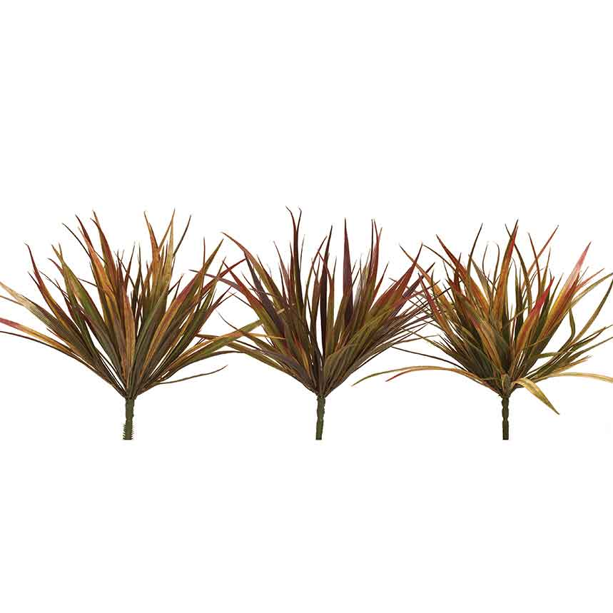 "E1390 FALL GRASSES X7 3 ASSORTED 13"" EACH"