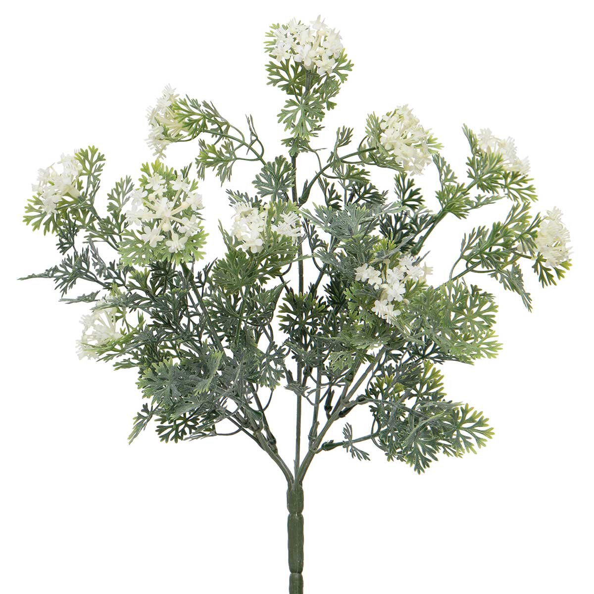 "MINI QUEEN ANNE'S LACE BUSH 9""x14"""