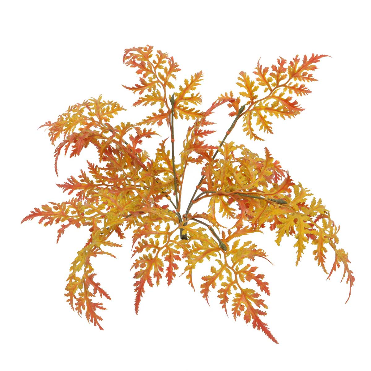 "MIXED FALL FERN BUSH 13"" v22"