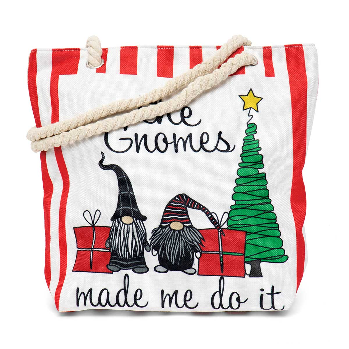 The Gnomes Made Us Do It Tapestry Bag ff10