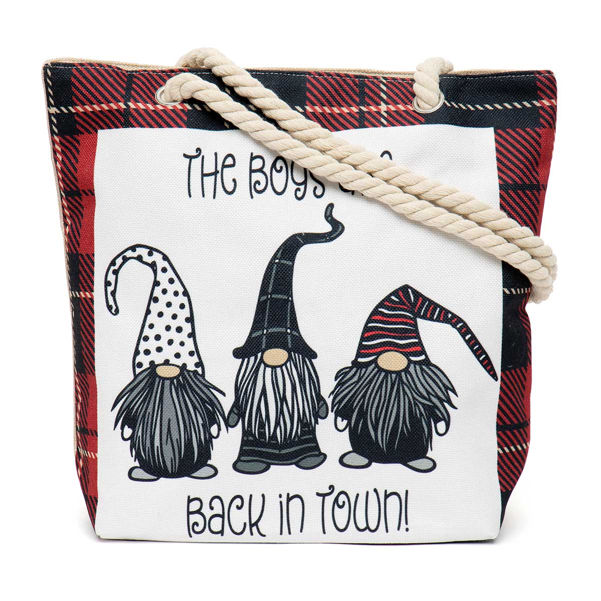 Boys are Back in Town Tapestry Bag ff10