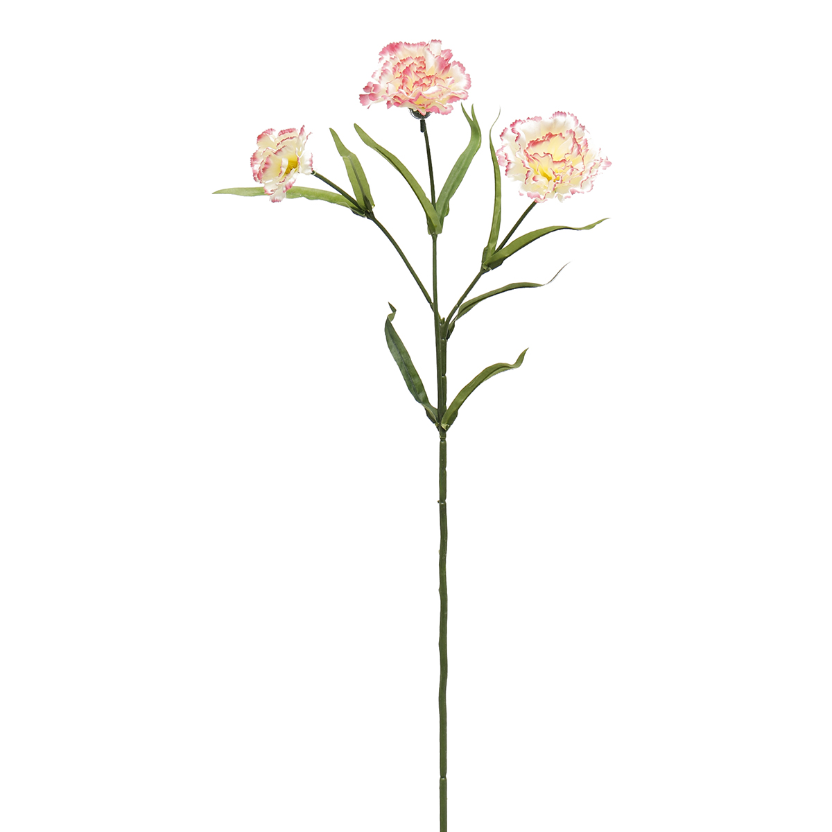 "FRENCH CARNATION SPRAY X3 25"" PEPPERMINT M8961 PP *70sp"