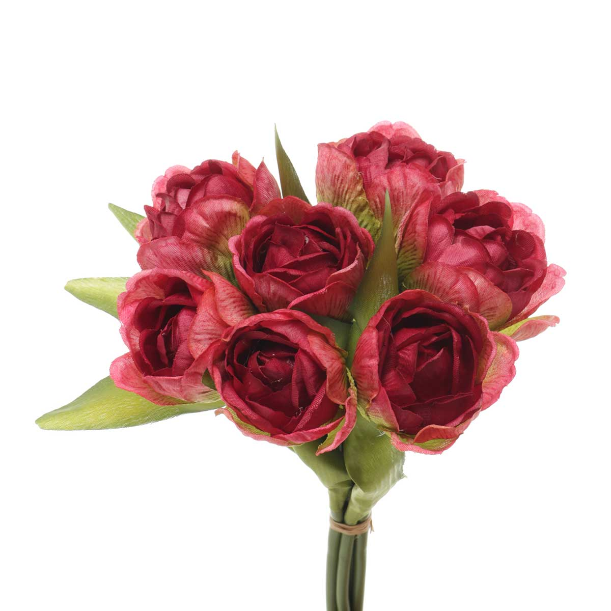 "TULIP BOUQUET X7 8""X10"" RED"