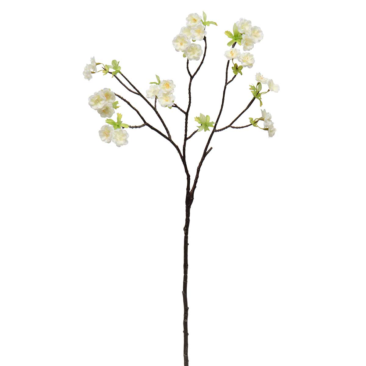 "FRESH CHERRY BLOSSOM BRANCH 9""X27.5"" YELLOW/CREAM"