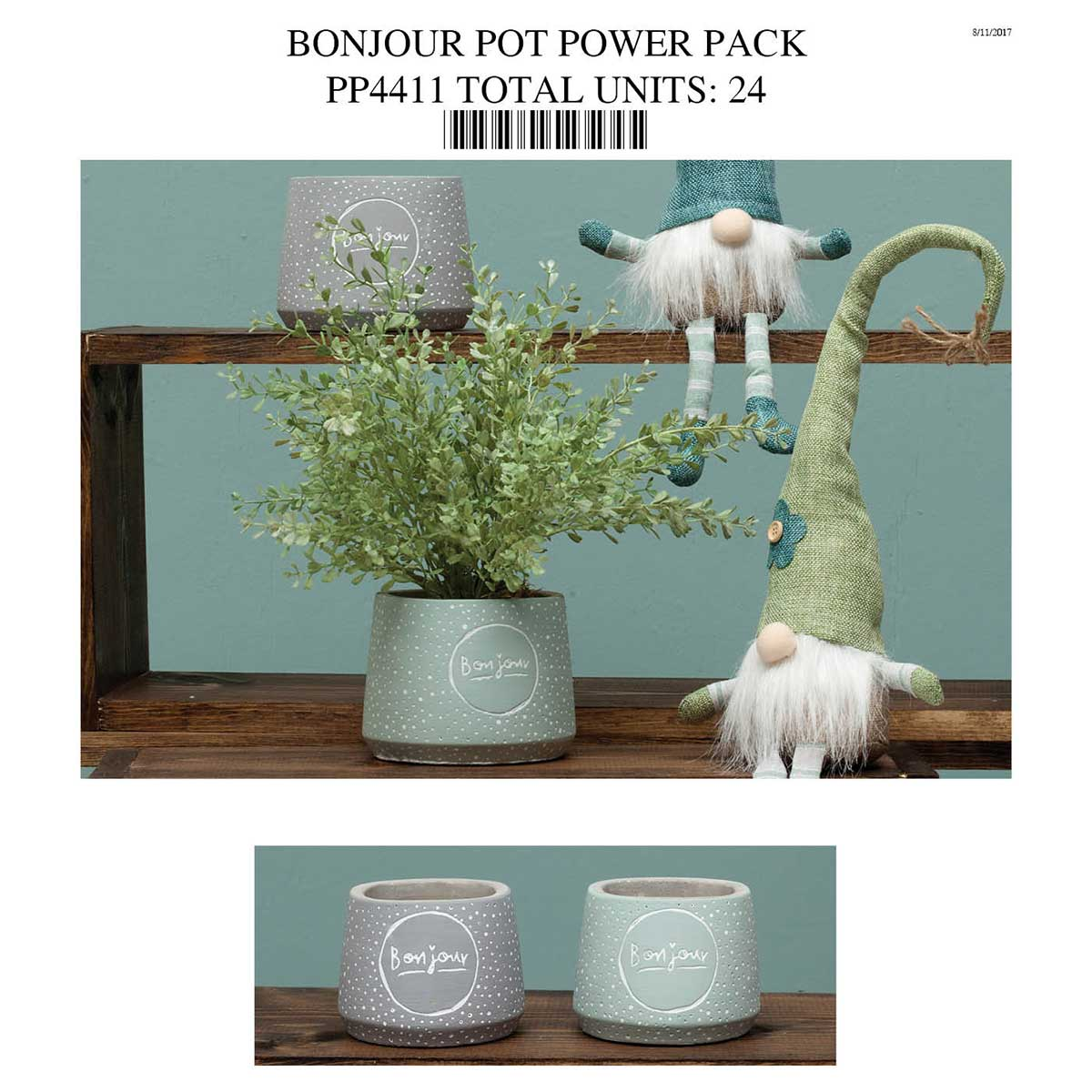 BONJOUR POT POWER PACK PP4411