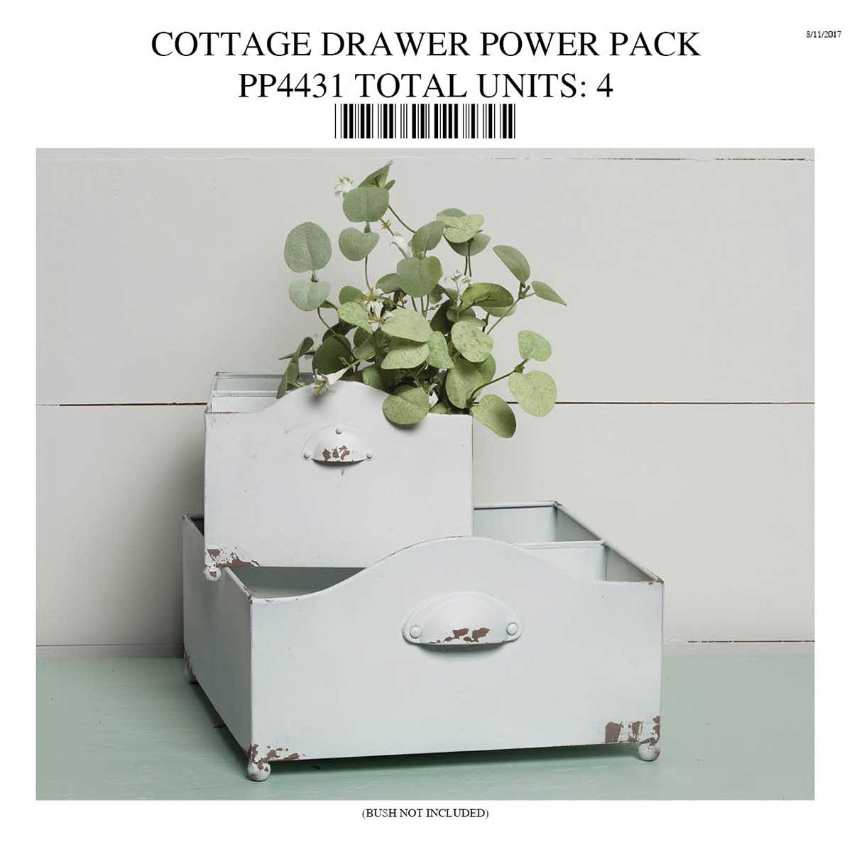 COTTAGE DRAWER POWER PACK PP4431
