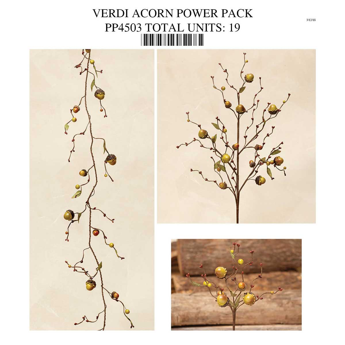 Green Acorn Power Pack Collection 19 Units