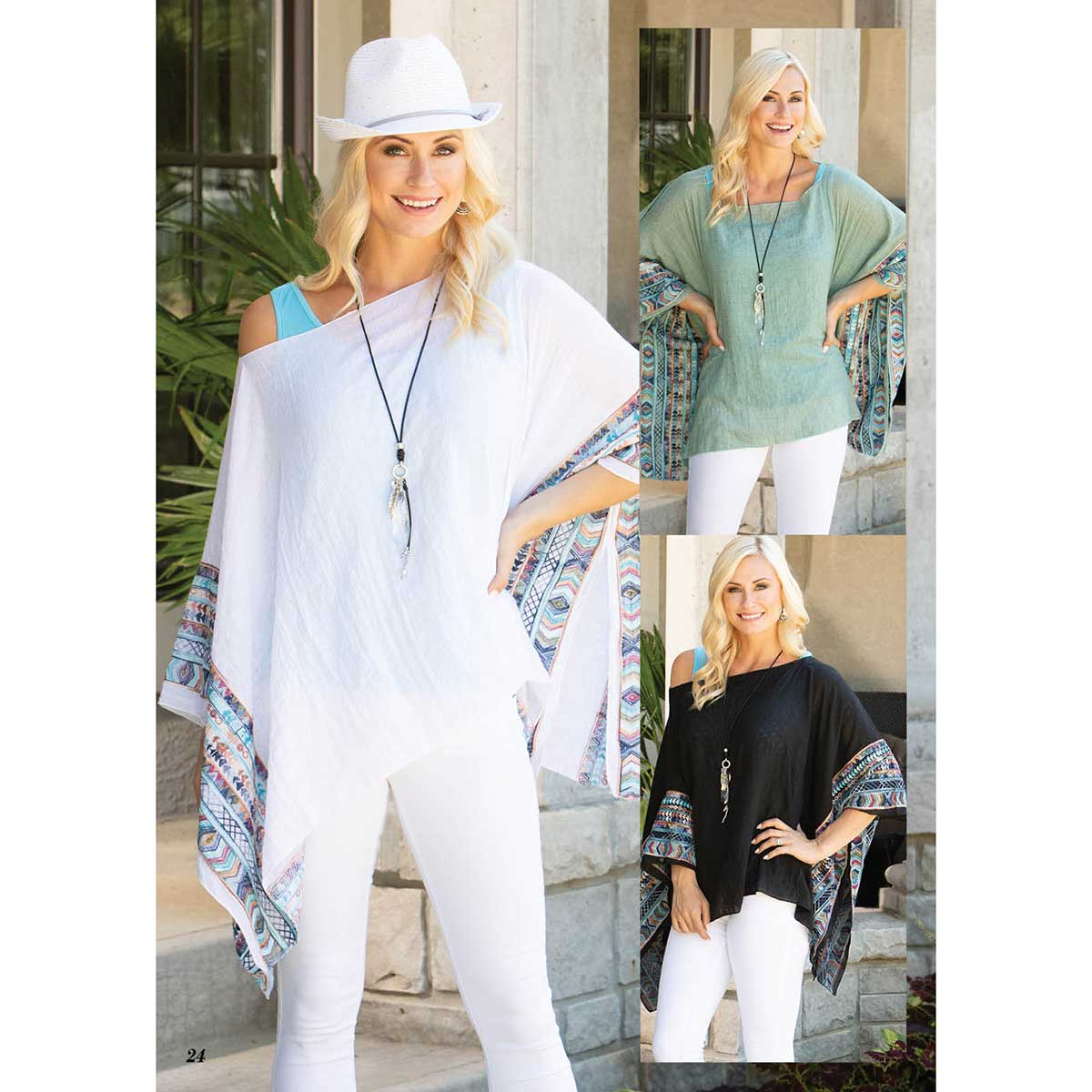 Embroidered Tunic Power Pack 3 Units PP4665