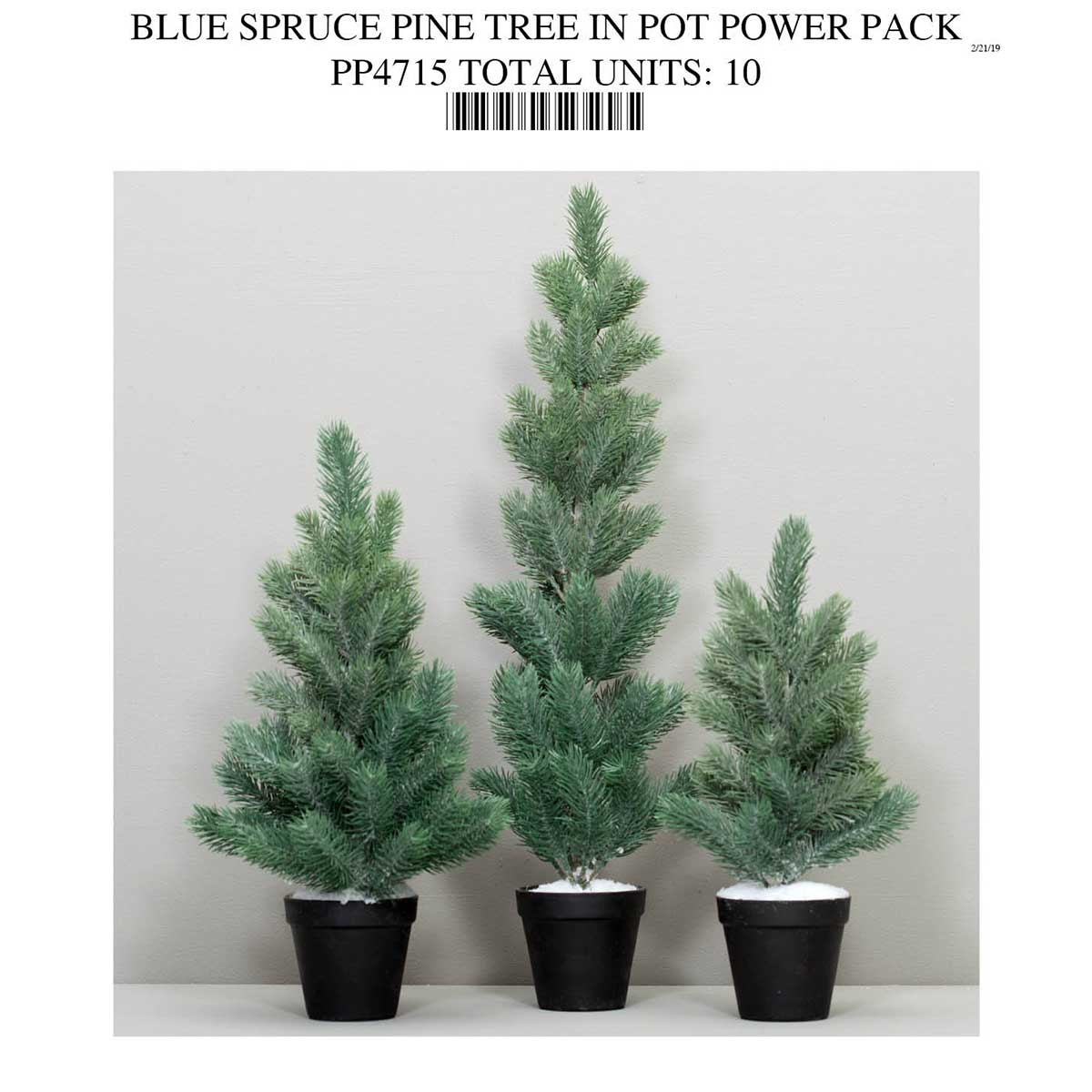 BLUE SPRUCE TREE POWER PACK PP4715