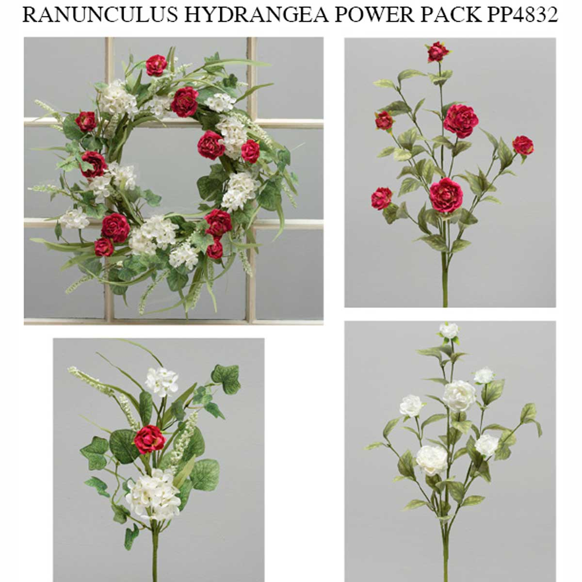 POSEY PATCH RANUNCULUS AND HYDRANGEA POWER PACK 13 UNITS