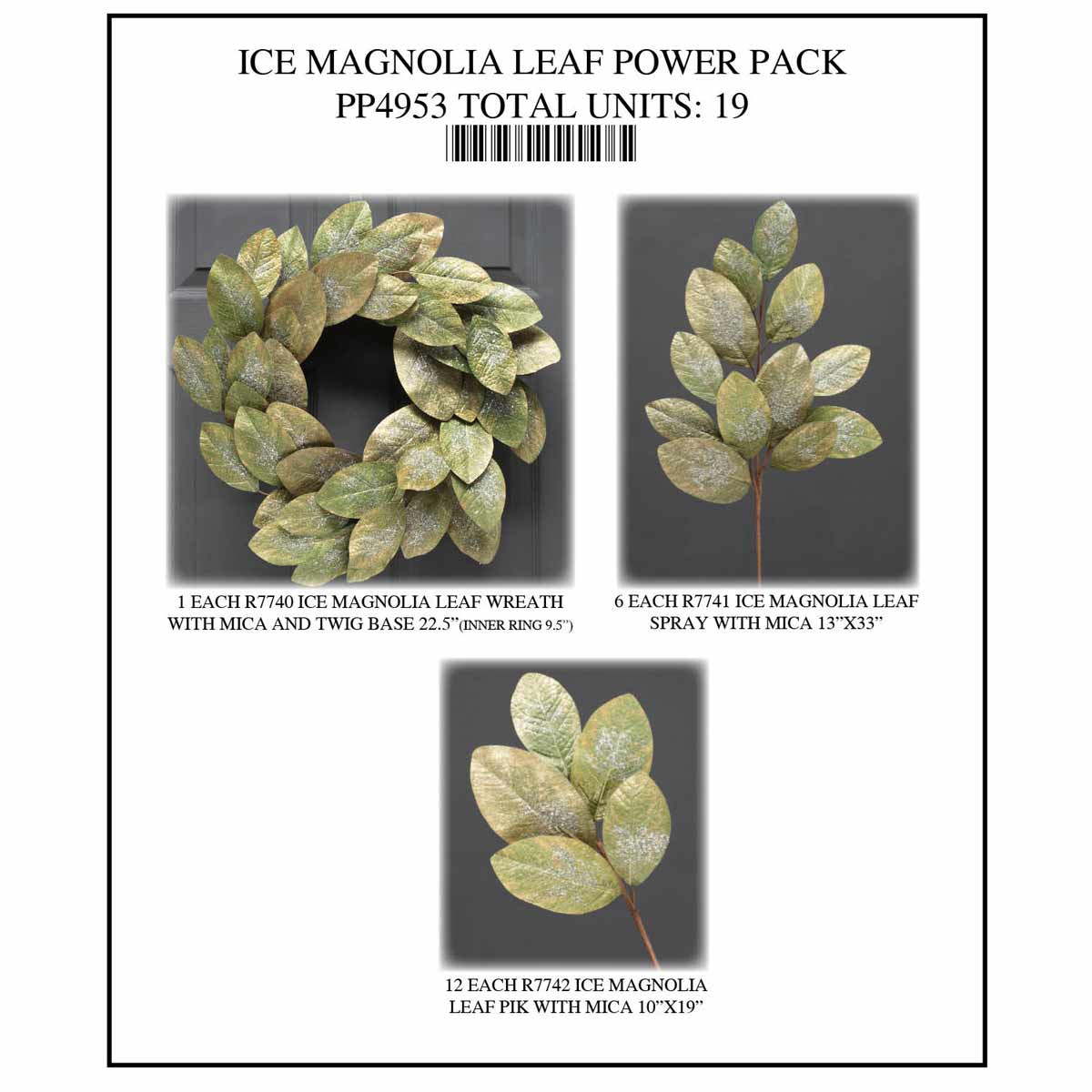 ICE MAGNOLIA LEAF POWER PACK 19 UNITS PP4953