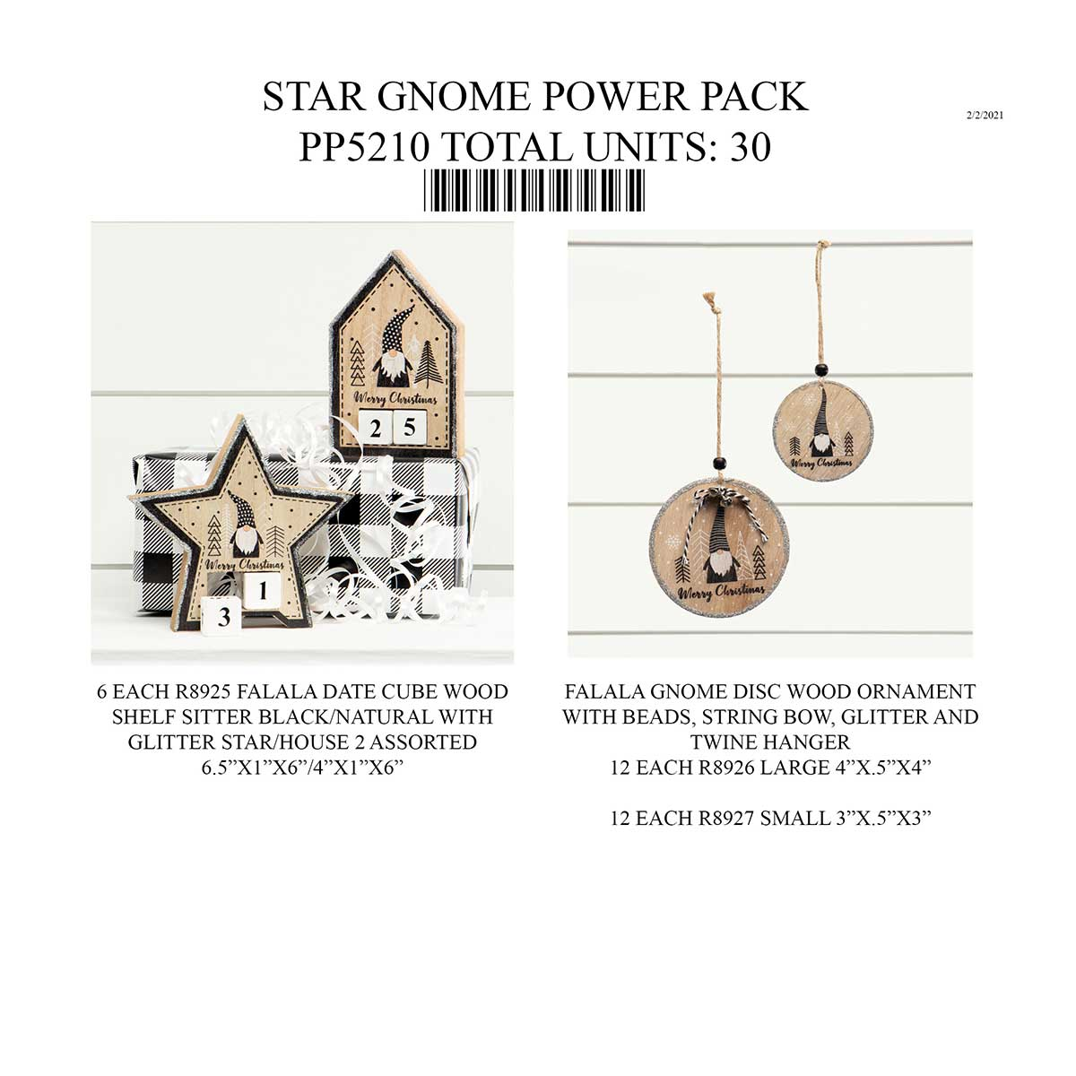 STAR GNOME POWER PACK 30 UNITS PP5210