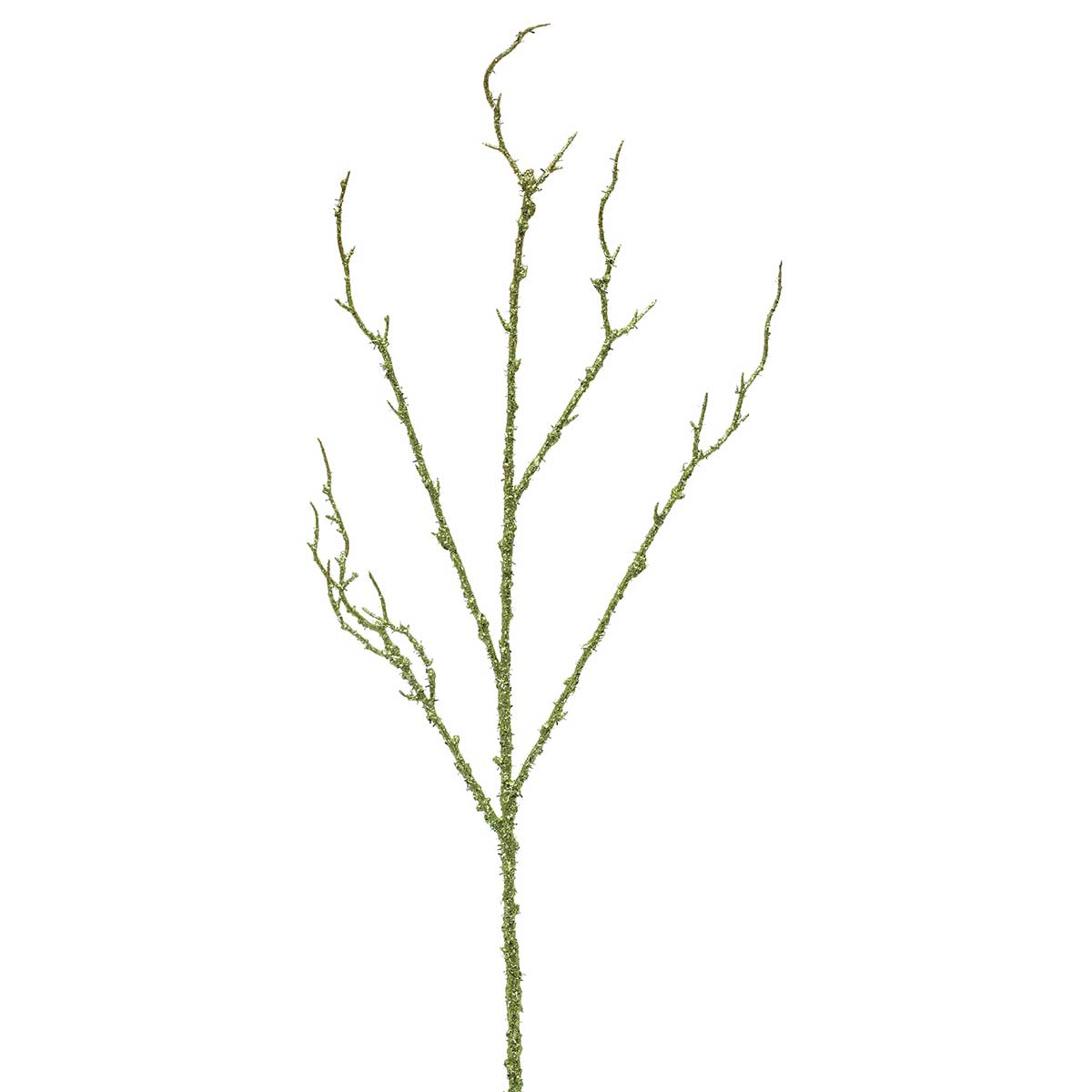 "R5530 SAGE GLITTER TWIG BRANCH 33"" *70sp"