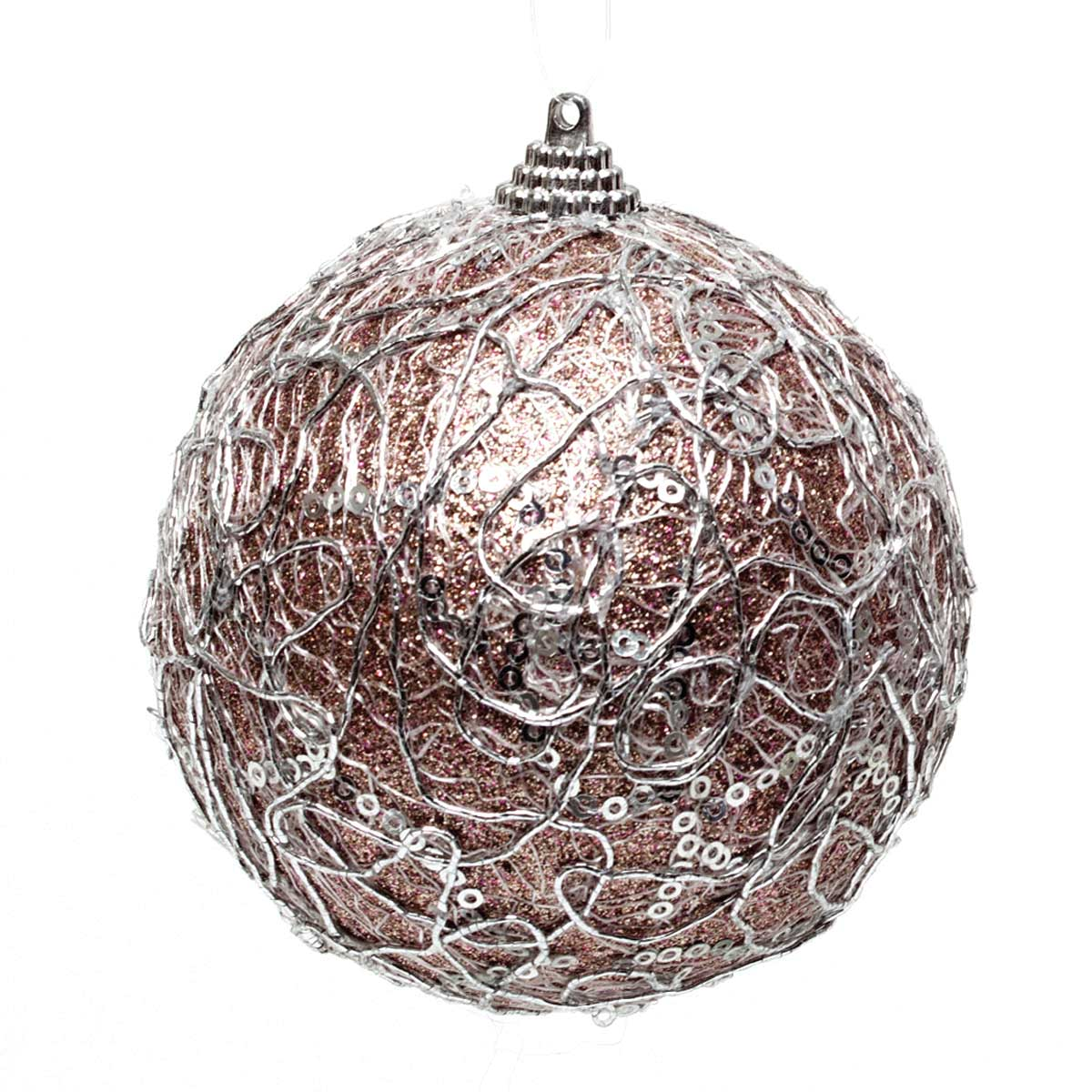 Sparkle Netting Ball Ornament