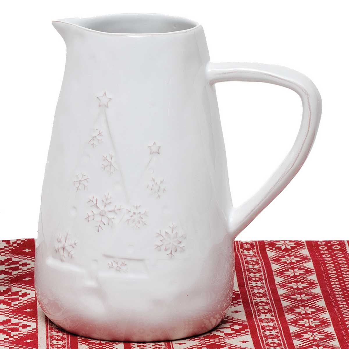 "YULETIDE PITCHER 5""X8"" v22"