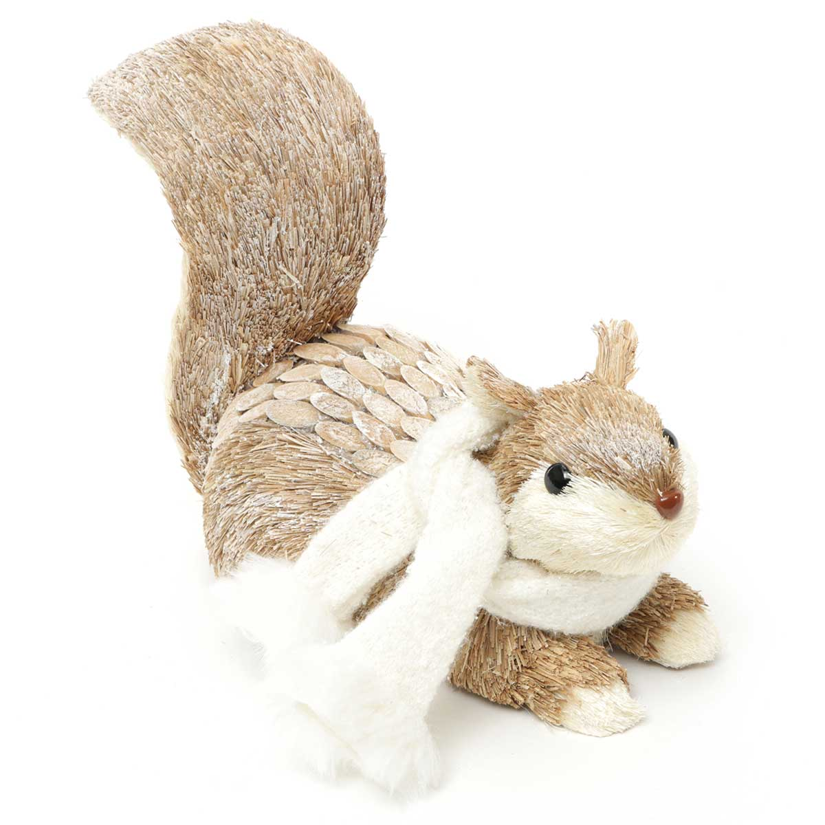 SISAL SQUIRREL TAIL UP WITH SCARF