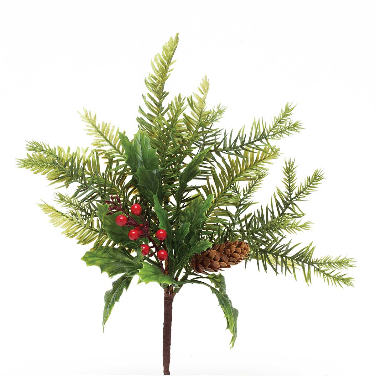 HOLLY PINE & BERRY PIK 14""