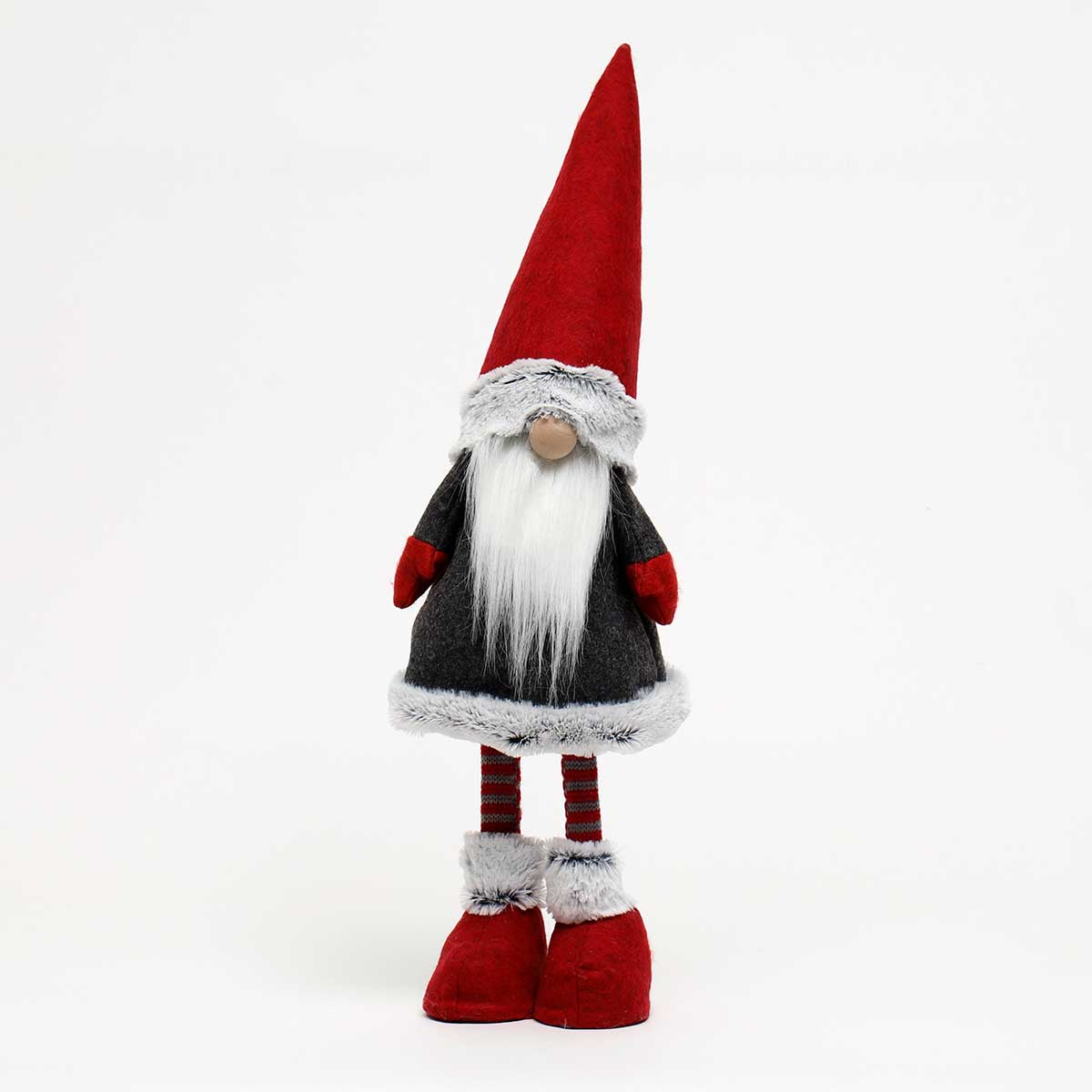 BOUNCY GNOME WITH FUR TRIM AND