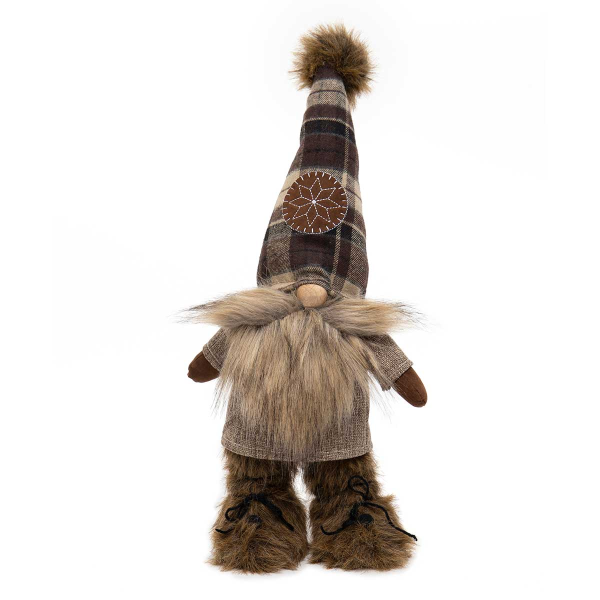 BROWN NORTHWOODS STANDING GNOME