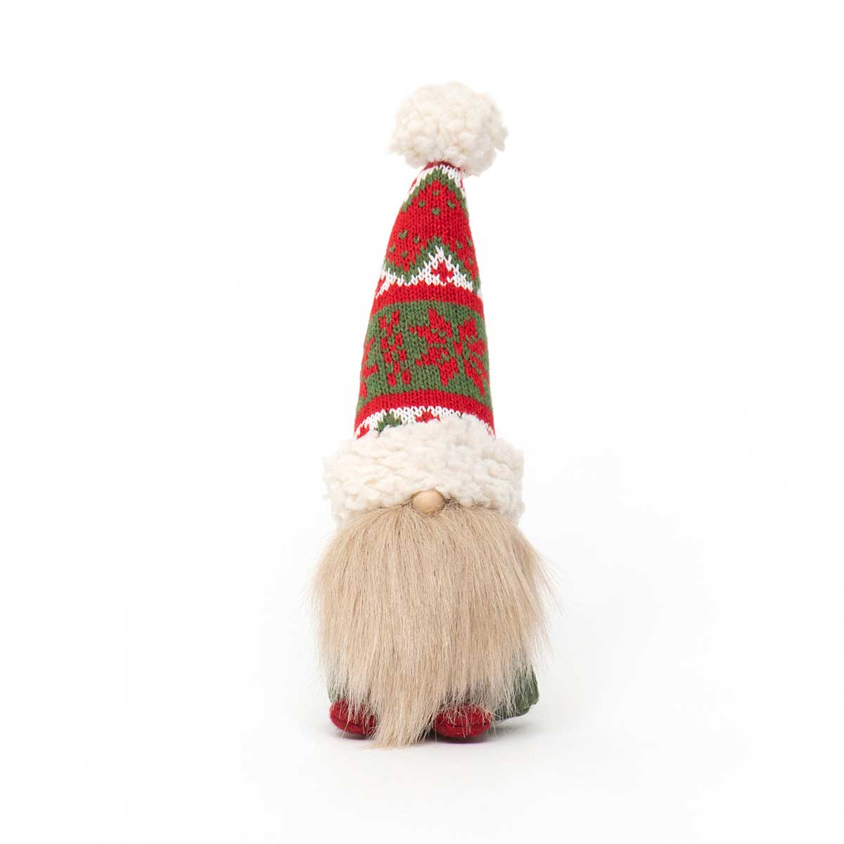 MINI GNOME WITH WIRED RED/GREEN SWEATER