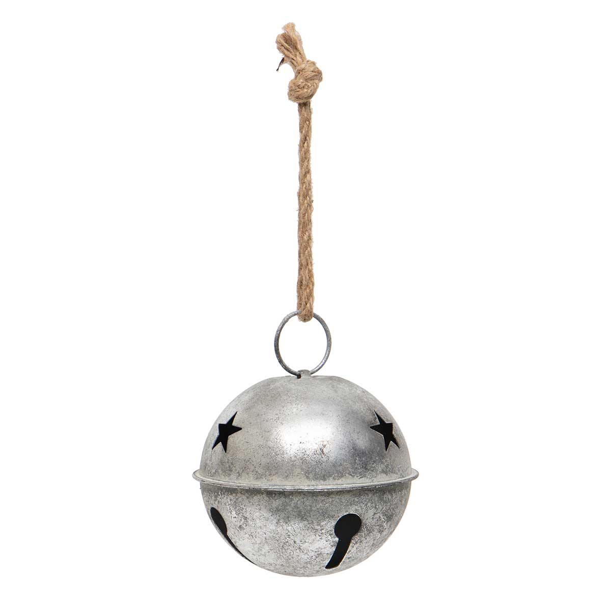 SILVER METAL JINGLE BELL