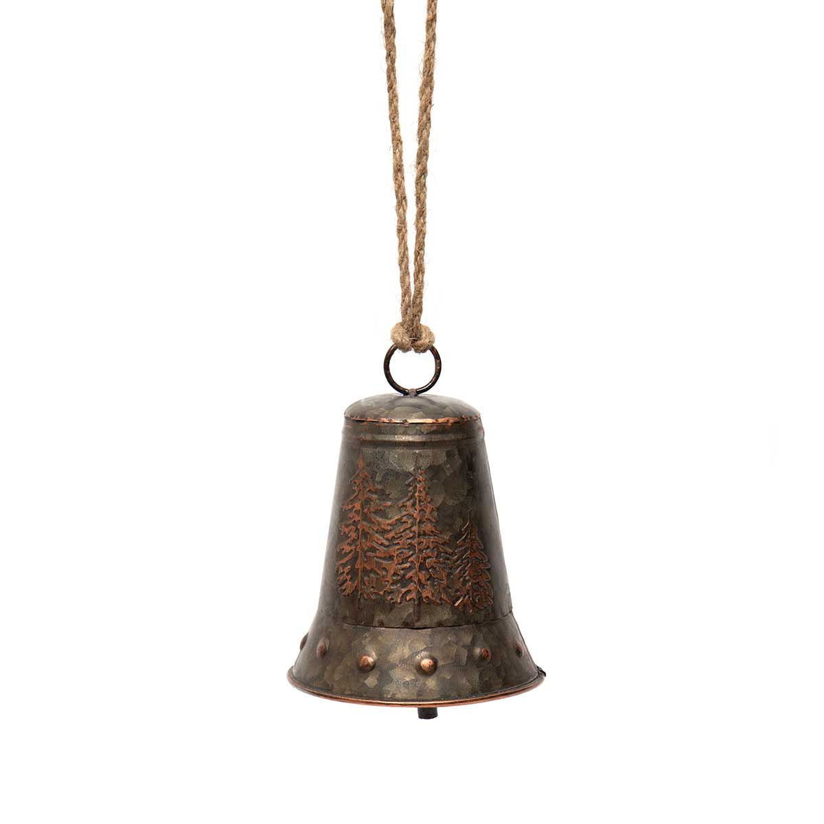 BRONZE FINISH METAL BELL