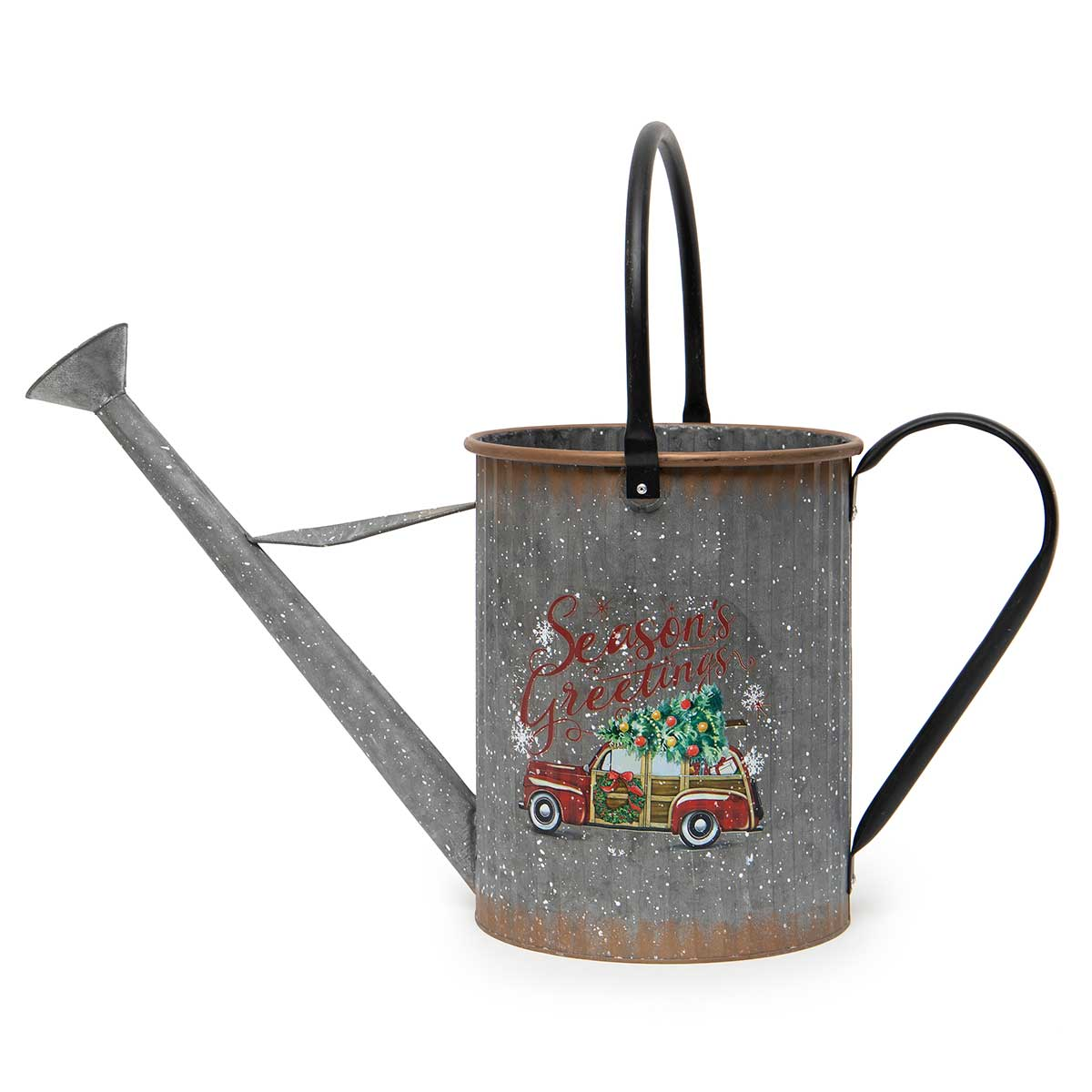 METAL CAR WATERING CAN