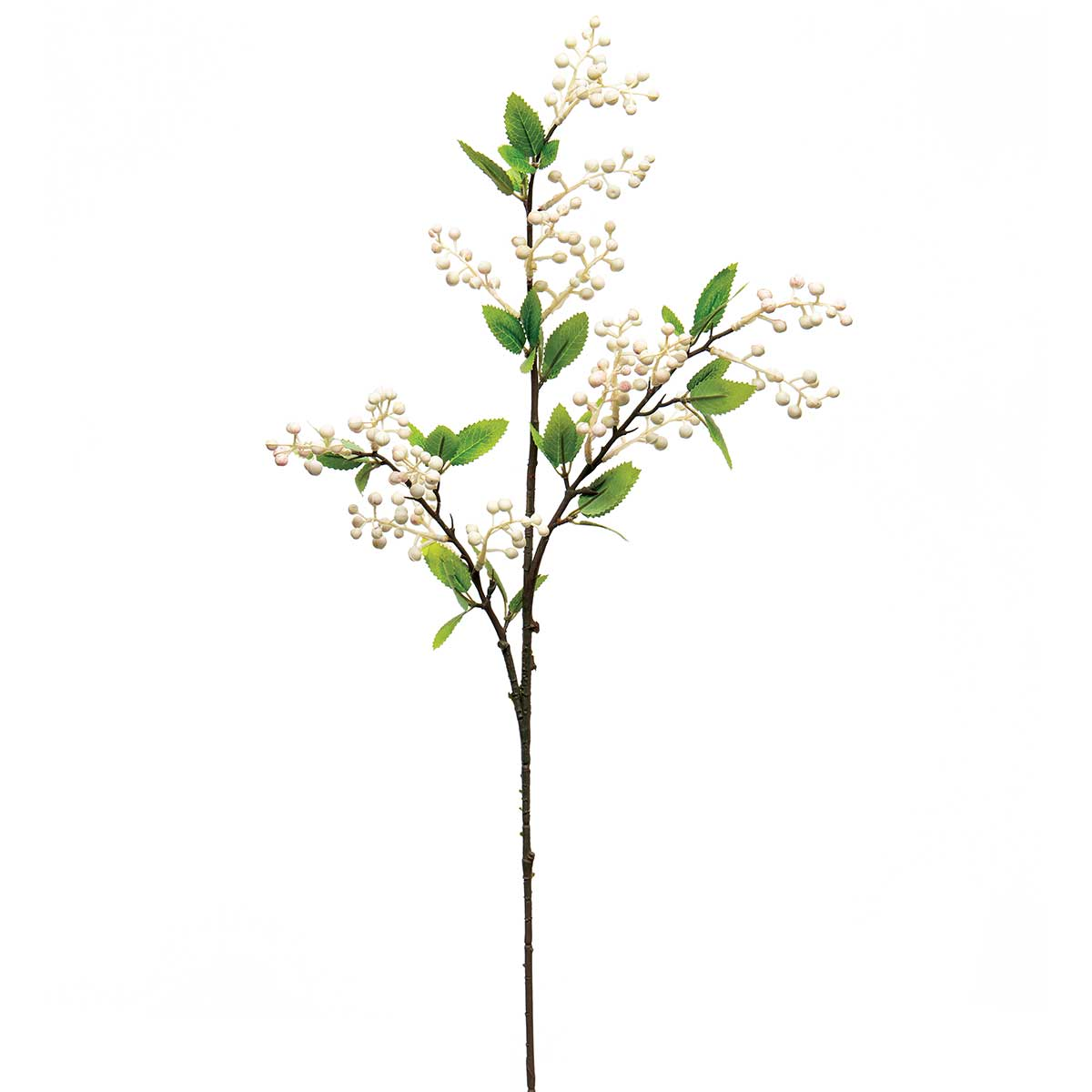 "NANDINA BERRY SPRAY WITH LEAVES 11""X33"""