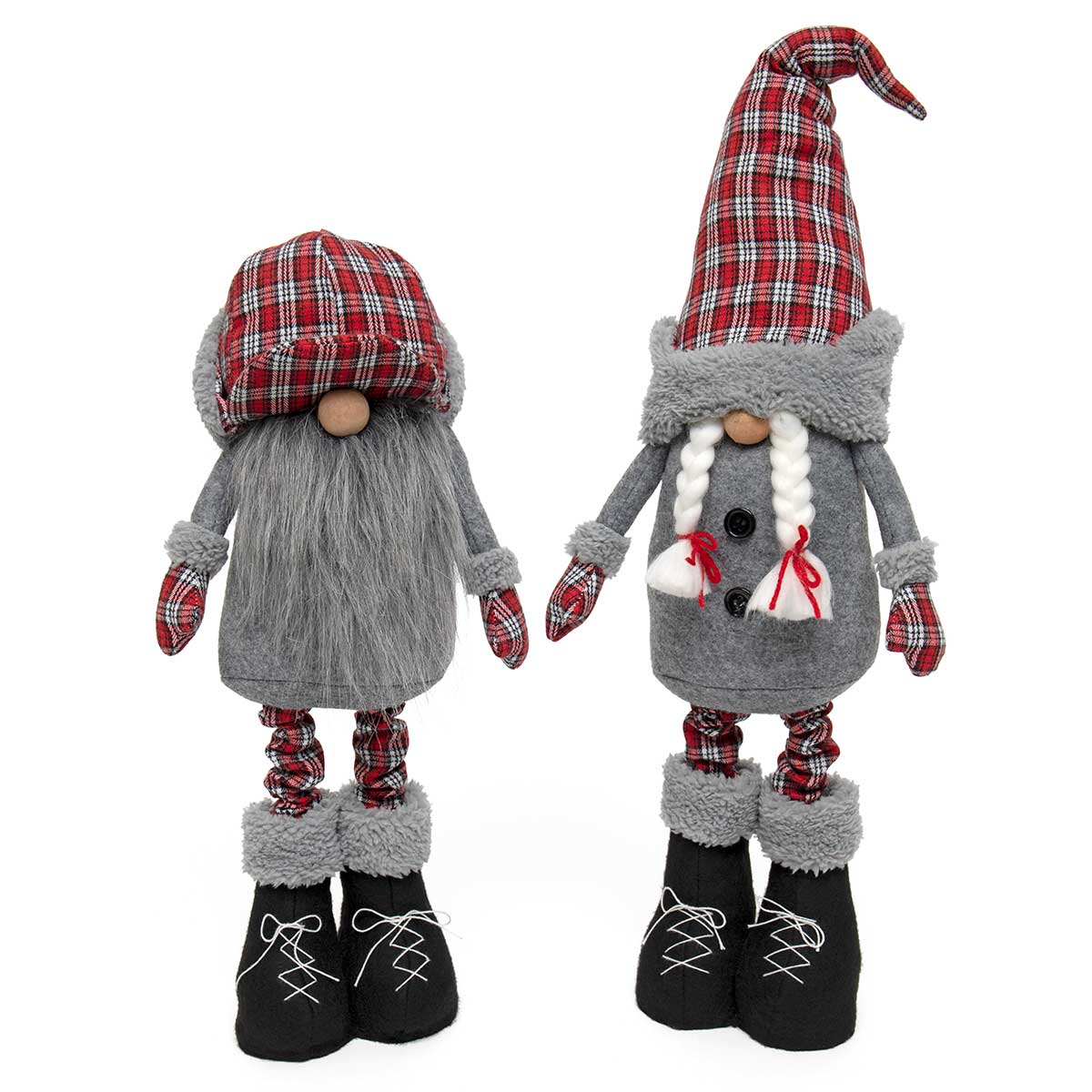 OUTDOOR PLAID EXPANDABLE GNOME COUPLE I'M EXPANDABLE