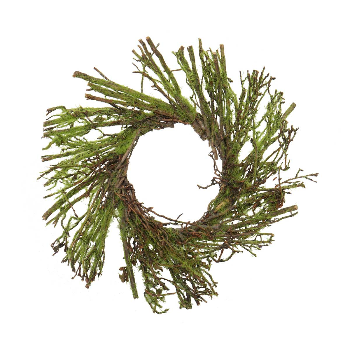 "Moss & Twig Mini Wreath 8""(Inner Ring 3"")"