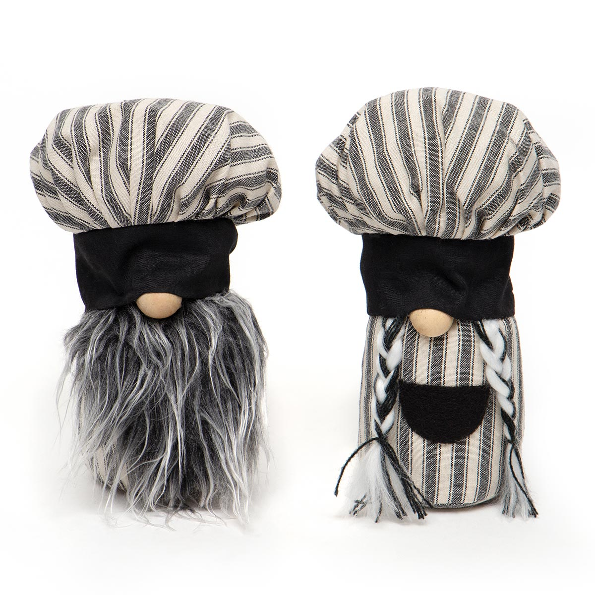 BON APPETIT DUO GNOME WITH CREAM/GREY STRIPED