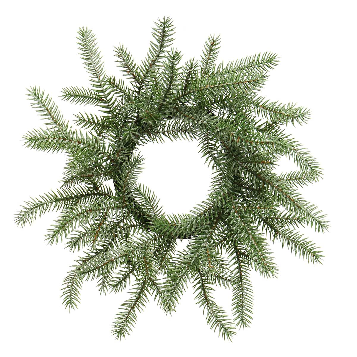 NORDIC FIR PINE WREATH WITH MICA AND ff40