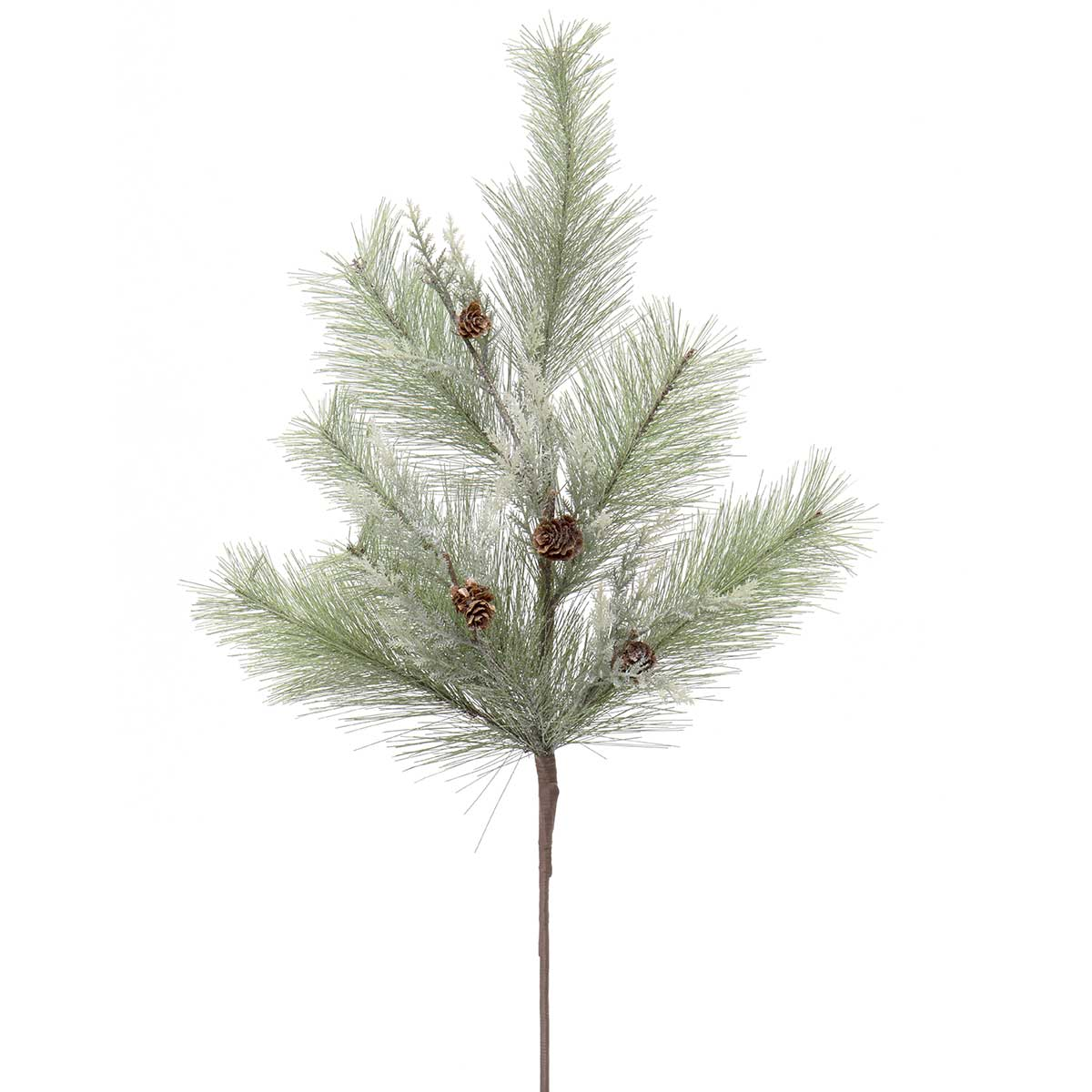 PINE SPRAY WITH MINI PINECONES,
