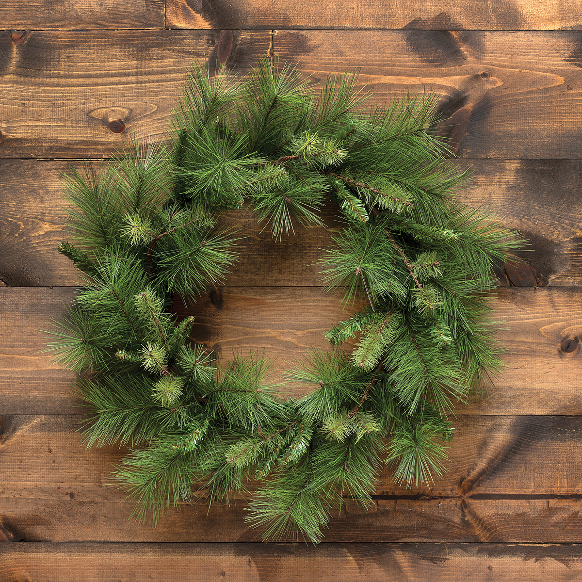 "PINE WREATH 24""(INNER RING 13"")"