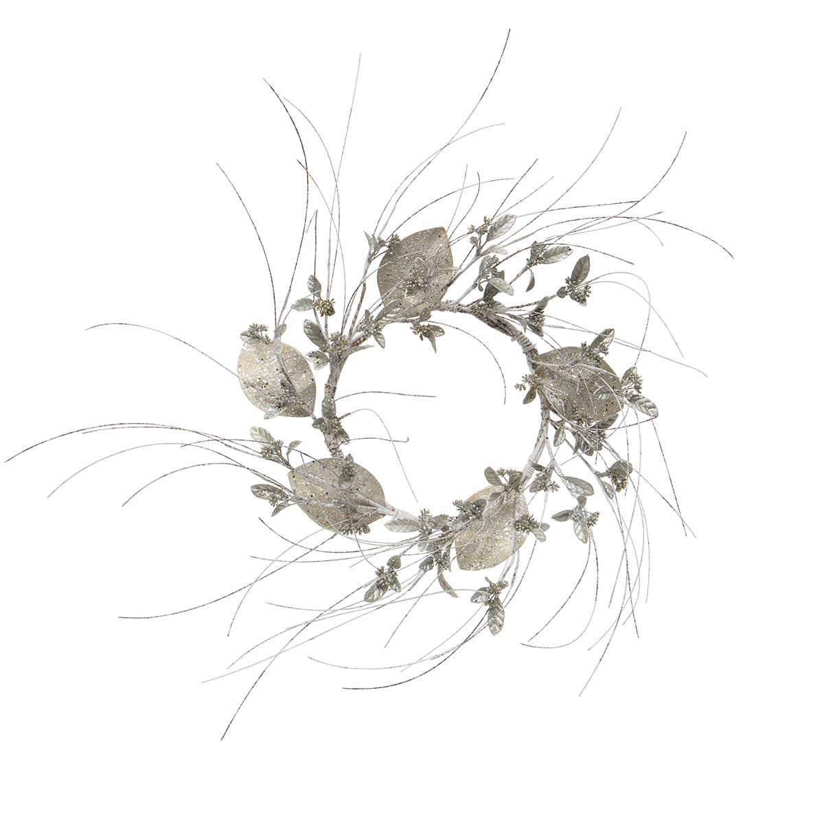BIRCH & MAGNOLIA LEAF WREATH
