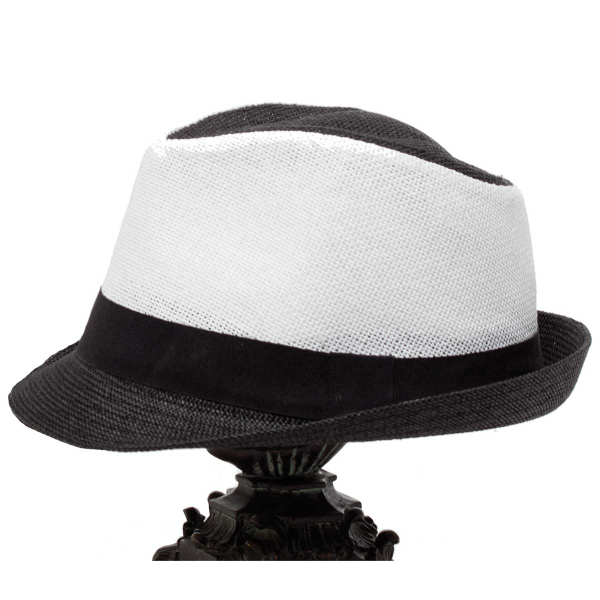 Black and White Chi-Town Hat *70sp