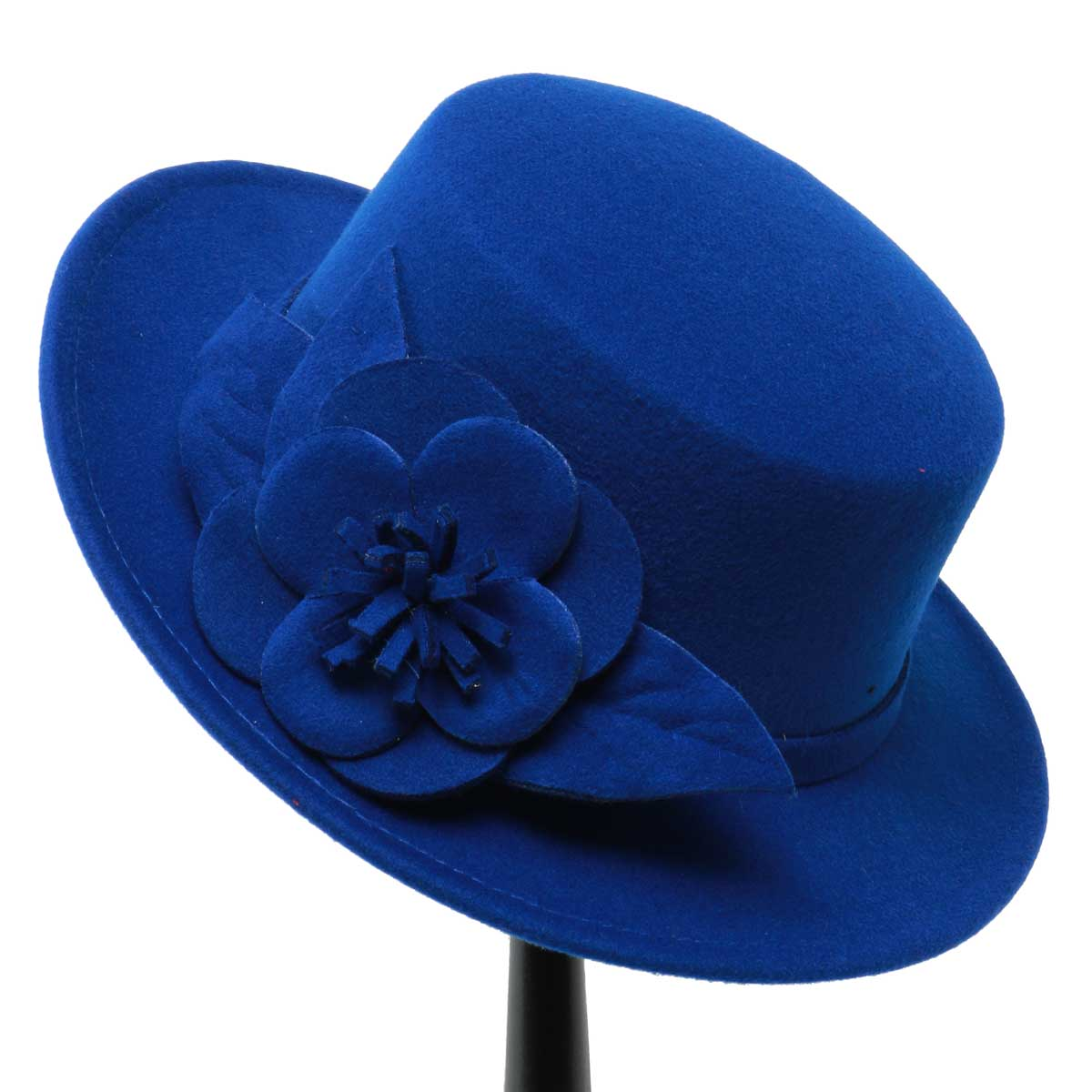 BLUE GAINSBOROUGH HAT 50sp