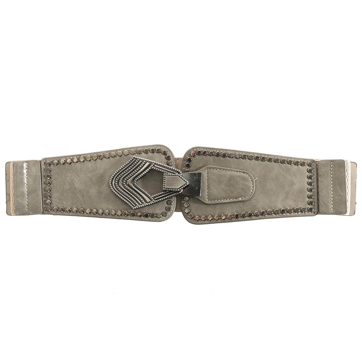 "Grey 31.5"" RIVET BELT"