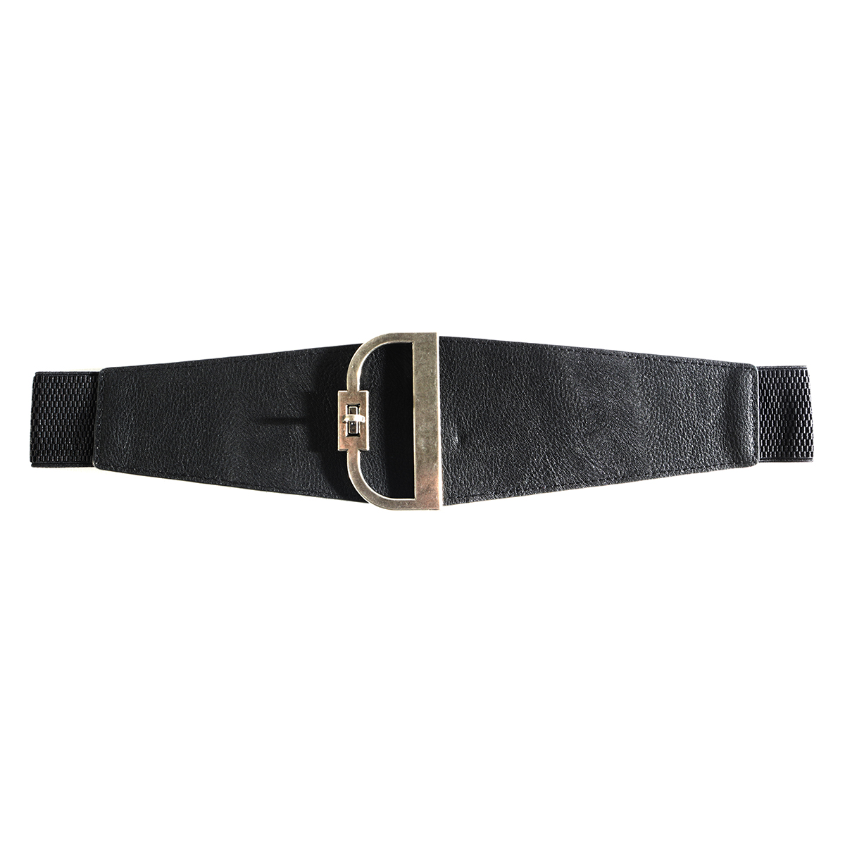 "BLK 34"" D BUCKLE BELT"