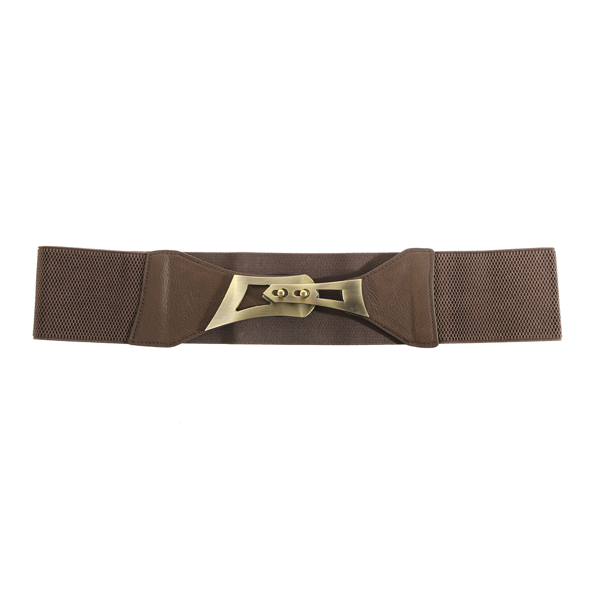 "DK BROWN 35"" BRONZE BUCKLE Belt"