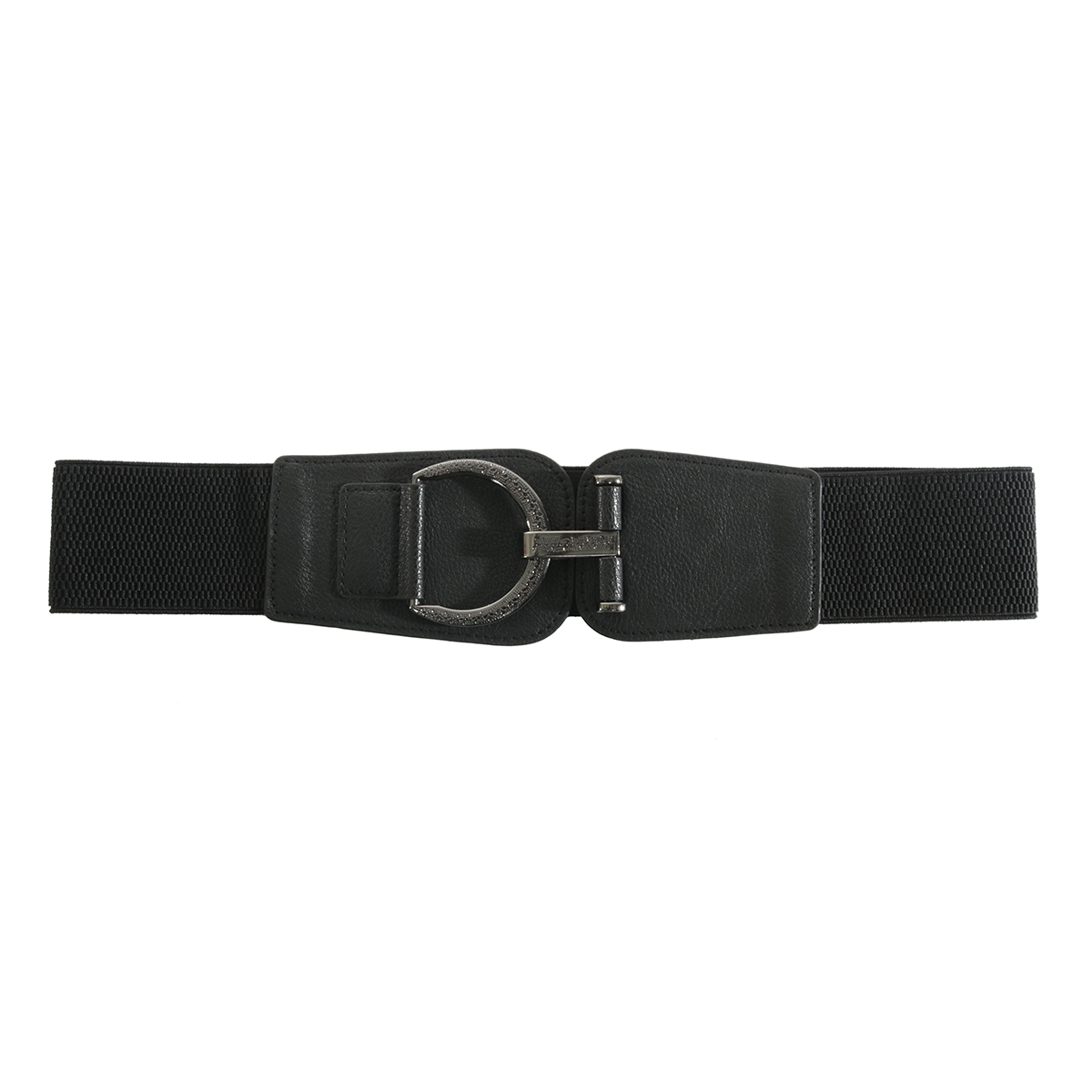 "BLK 35"" FANCY BUCKLE BELT"